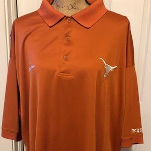 Columbia Pfg Texas Longhorns Polo Vented XXL